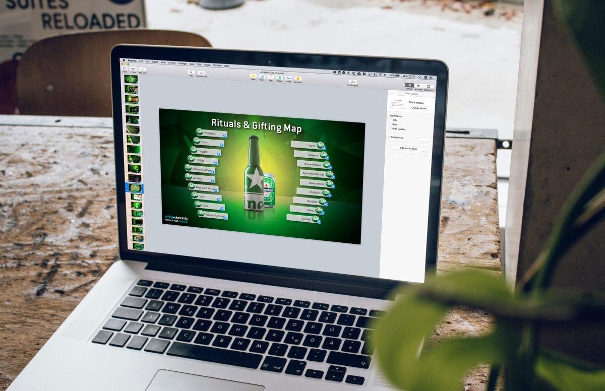 Apresentação Gifting Heineken